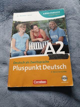 Libro alemán. Pluspunkt Deutsch. ISBN 978306024289