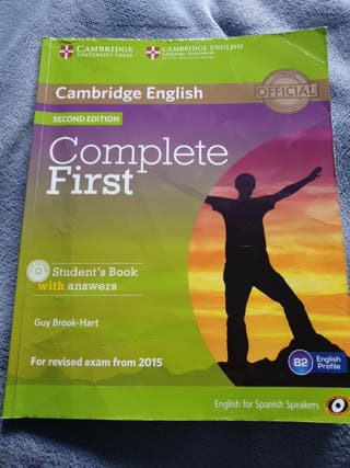 libro ingles Complete First Second Edition