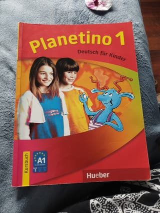 Libro alemán Planetino 1.