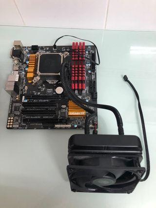 Placa Base + componentes