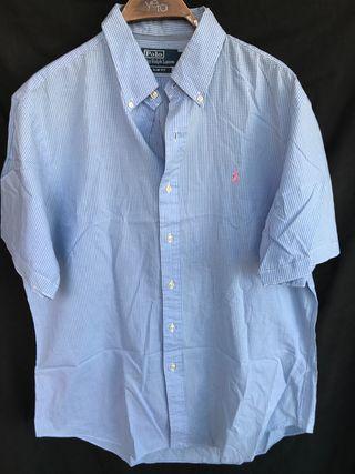 POLO RALPH LAUREN SLIM camisa manga corta XL