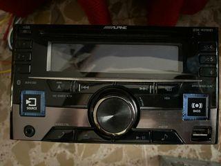 Alpine Radio CD 2DIN con Bluetooth CDE-W296BT