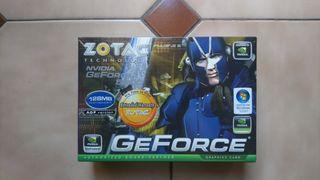 Tarjeta gráfica Zotac Geforce 5200 AGP 8X 128Mb