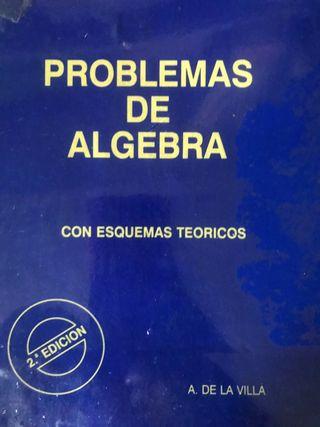 Problemas de álgebra. A. De la Villa