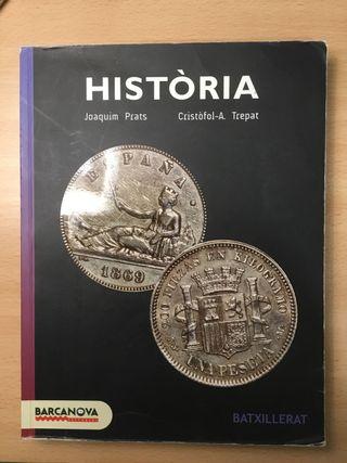 Libro Historia primero de bachillerato