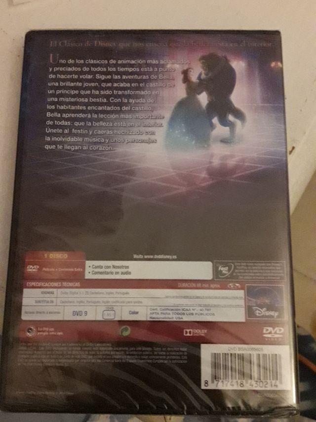 DVD La Bella y la Bestia Disney