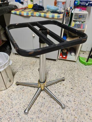 Pie de mesa metalico