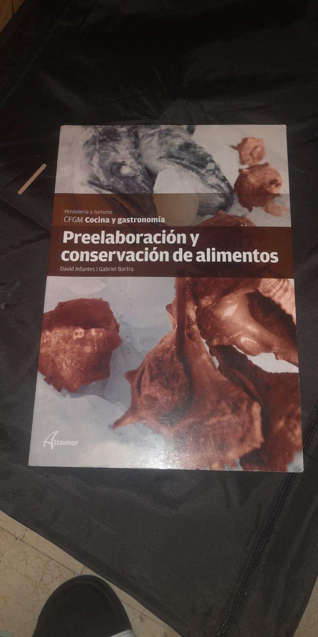libro preelaboracion y conservación de alimentos