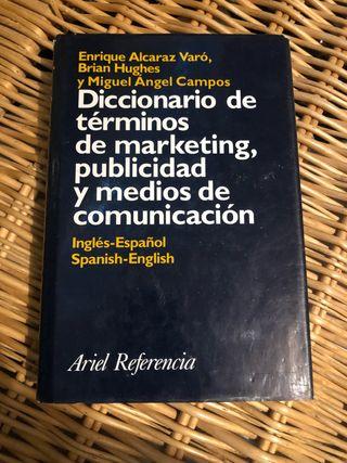 Libro Diccionario de términos de marketing, publi