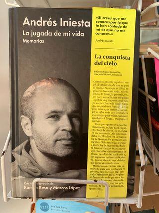 Libro Andres Iniesta