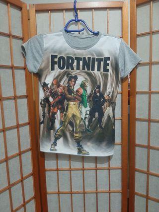 camiseta manga corta fortnite