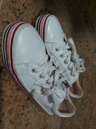 zapatillas bambas zara talla 35