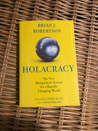 Libro Holacracy de Brian J.Robertson