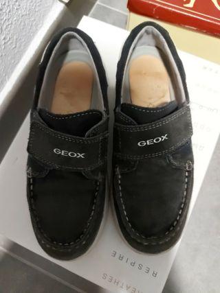 zapatos náuticos mocasines geox talla 33