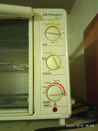 minihorno grill tostador microondas