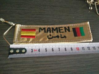 Llavero Mamen. España - Afganistan.
