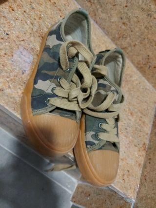 zapatillas bambas zara talla 32/33