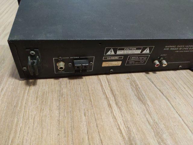 Radio componente marca Carver TX-10 clásica