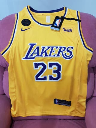 Camiseta a estrenar LeBron James - Lakers amarilla