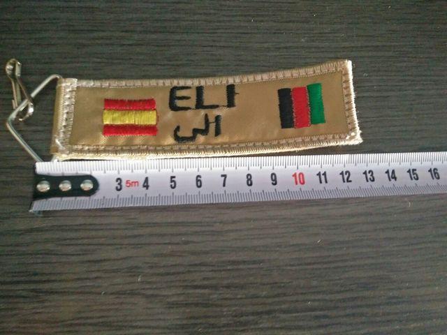 Llavero Eli. España - Afganistan.