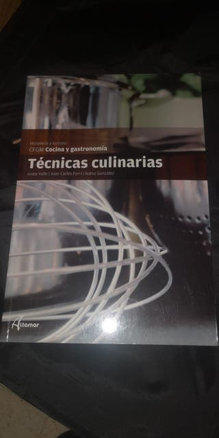 libro tecnicas culinarias