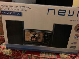 Nevir sistema de TV, TDT y DVD
