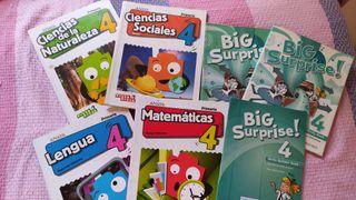 Libros 4 ° primaria. Editorial Anaya