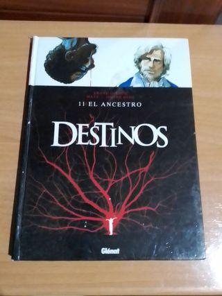 Destinos, el ancestro, libro