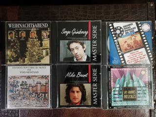 lote cds solistas y musicales