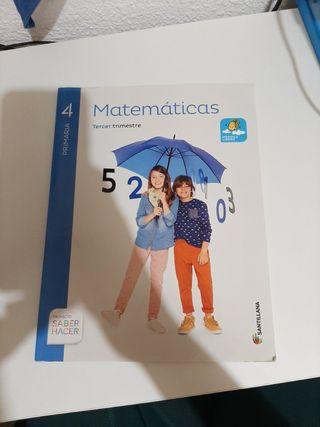 libro de matematicas 4 de primaria