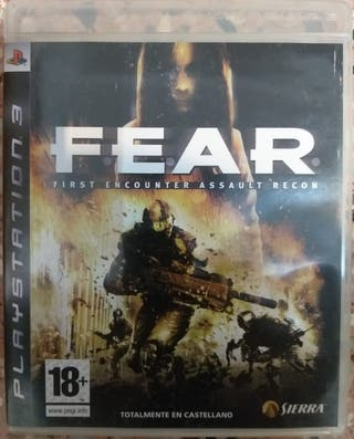 Juego PS3 Fear First Encounter