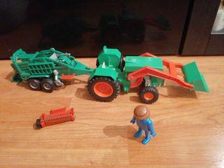 Tractor playmobil
