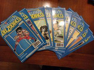 Comic Caballeros del Zodiaco 1-10
