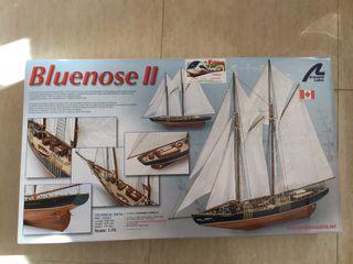 Maqueta de barco Bluenose II