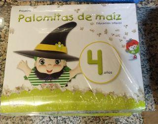 LIBROS PROYECTO PALOMITAS DE MAIZ 4 AÑOS
