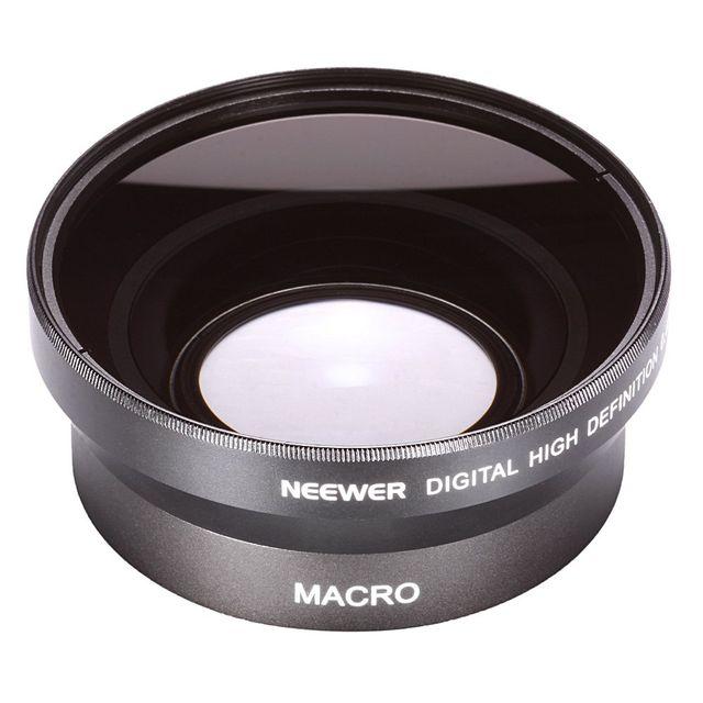 Lente de ángulo ancho para cámaras de 67 mm