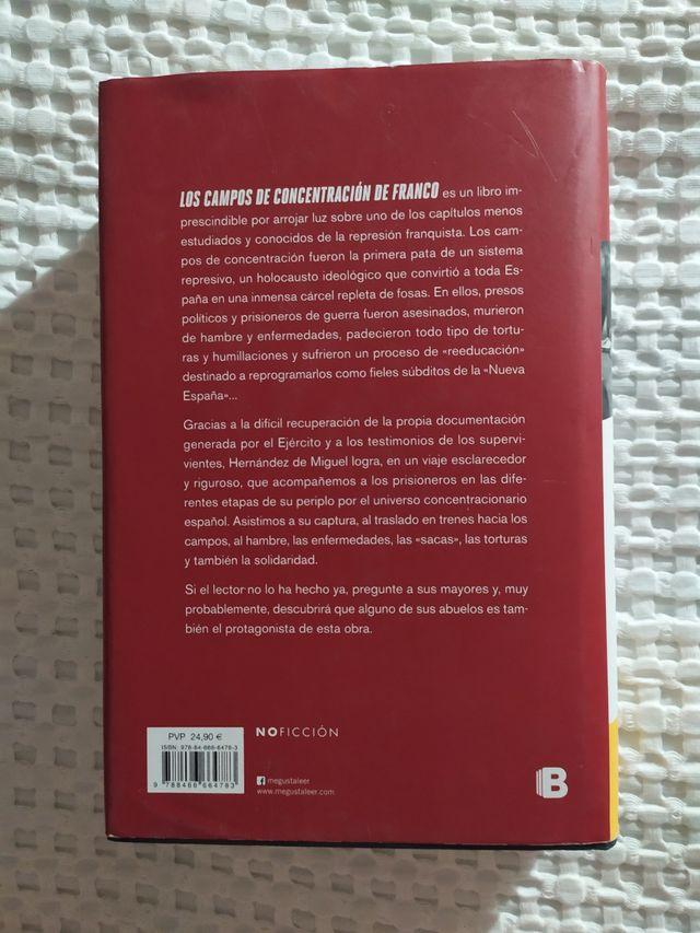 Libro Los campos de concentración de Franco