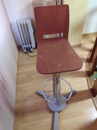 Conjunto de mesa y taburete