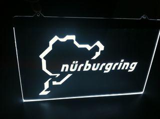 Cartel luminoso circuito Nürburgring Nurburgring