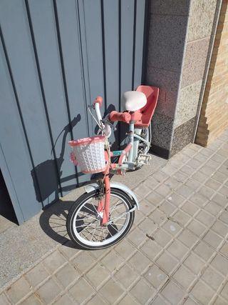 Bicicleta para niña/o