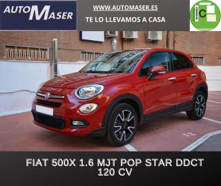Fiat 500X 1.6 MultiJet Pop Star 4x2 DCT 88 kW (120 CV)