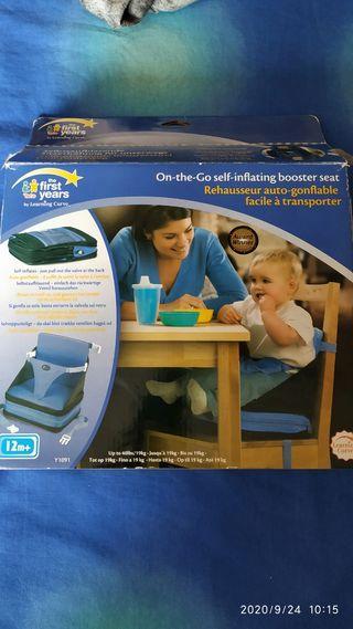 silla adaptador para comer .