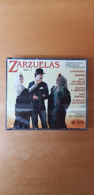ZARZUELAS. DOBLE CD. ORQUESTA LIRICA DE MADRID.