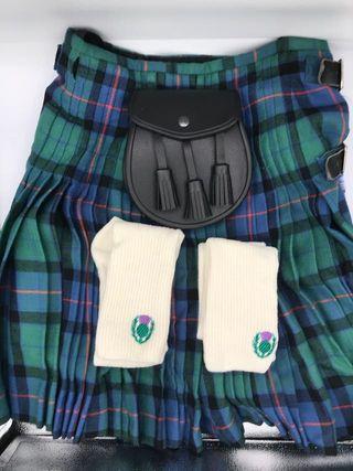 Auténtica falda escocesa hombre (Kilt)