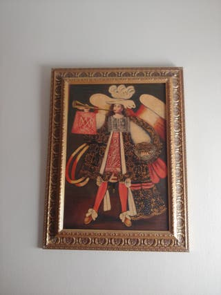 Pintura cuzqueña. Arcangel.