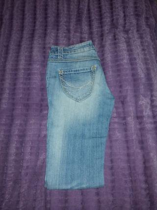Pantalones Tejano mujer. FRACOMINA
