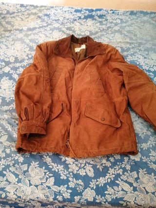 chaqueta de hombre de piel de ovino