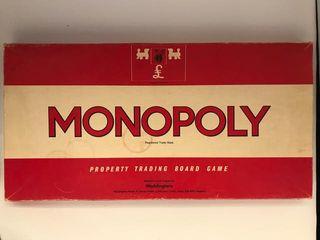 Monopoly edición inglesa 1935 - coleccionismo