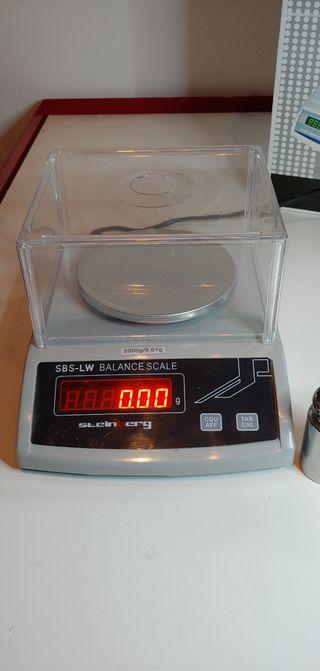 Balanza de precisión Steinberg 0,01gr a 2kg