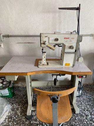 Máquina de coser zapatos alta